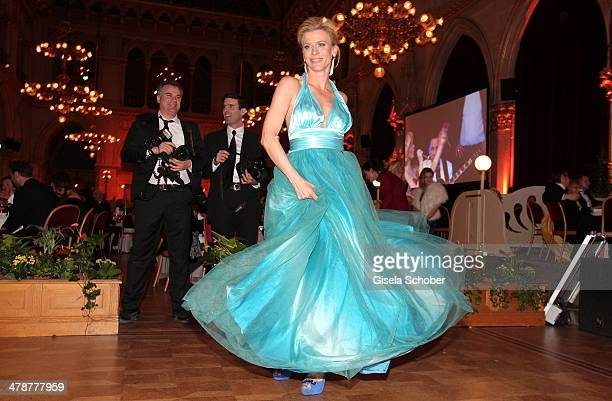 Eva Habermann attends the 5th Filmball Vienna at City Hall on March 14 2014 in Vienna Austria s
