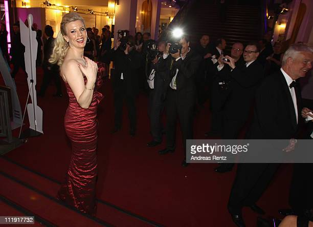 Eva Habermann attends the after show party to the 'Lola German Film Award 2011' at Friedrichstadtpalast on April 8 2011 in Berlin Germany