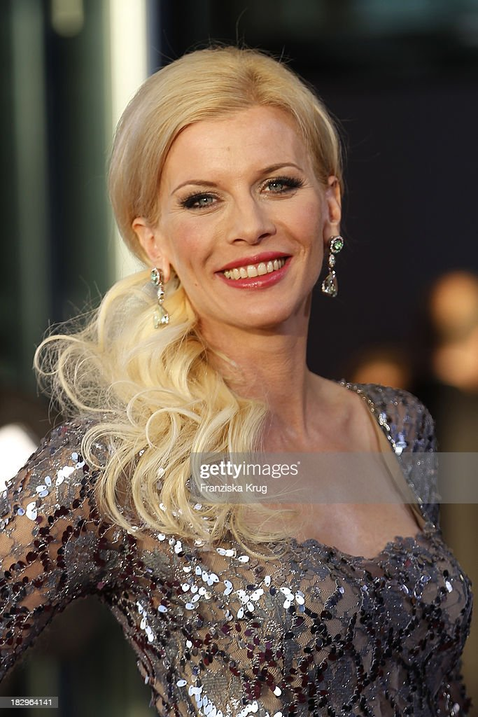Eva Habermann attends the Deutscher Fernsehpreis 2013 - Red Carpet Arrivals at Coloneum on October 02, 2013 in Cologne, Germany.