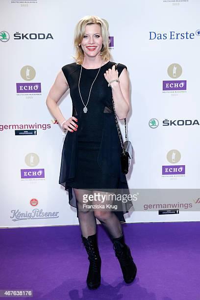 Eva Habermann attends the Echo Award 2015 on March 26 2015 in Berlin Germany