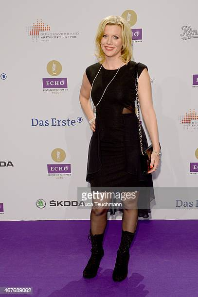 Eva Habermann attends the Echo Award 2015 Red Carpet Arrivals on March 26 2015 in Berlin Germany
