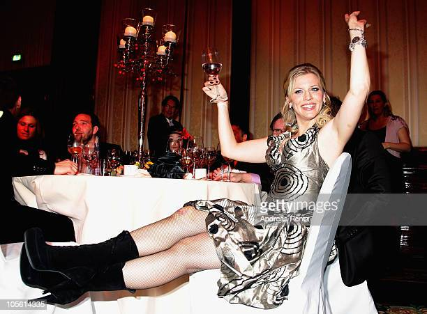 Eva Habermann attends the Hear the World Foundation Charity Gala at Ritz Carlton on October 16 2010 in Berlin Germany