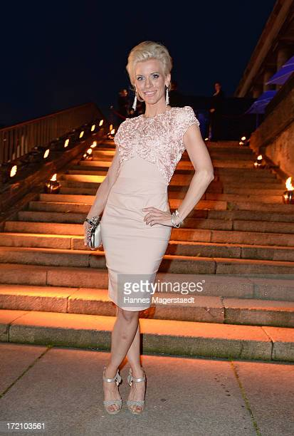Eva Habermann attends the Movie Meets Media Party during the Munich Film Festival 2013 at P1 on July 1, 2013 in Munich, Germany.