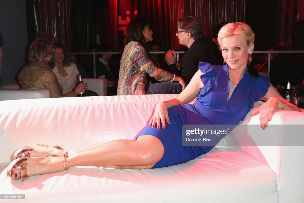 Eva Habermann attends the Ndf Afterwork Party at 8 Seasons on March 20, 2013 in Munich, Germany.