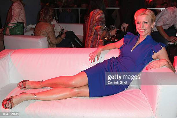 Eva Habermann attends the Ndf Afterwork Party at 8 Seasons on March 20 2013 in Munich Germany