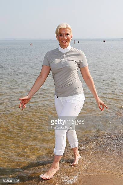 Eva Habermann attends the Till Demtroders CharityEvent 'Usedom Cross Country' on September 11 2016 near Heringsdorf in Usedom Germany