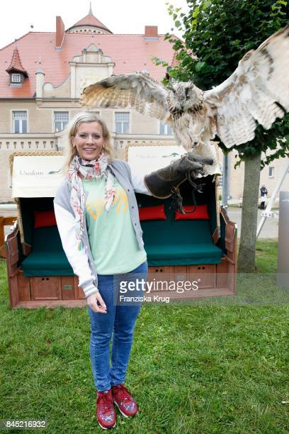Eva Habermann attends the Till Demtroeders CharityEvent 'Usedom Cross Country' at Schloss Stolpe on September 9 2017 near Heringsdorf at Usedom...