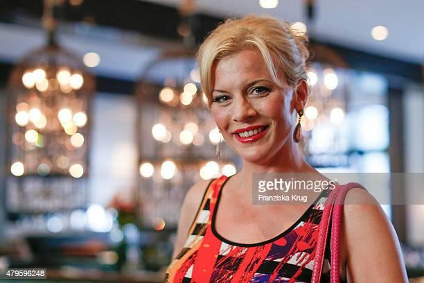 Eva Habermann attends the Wanawake Ladies Dinner at Hotel Zoo on July 05 2015 in Berlin Germany