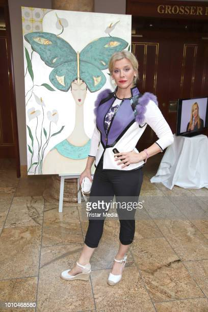 Eva Habermann during the Winter/Autumn Fashion Show 'Breaking The Ice' of Liz Malraux on August 2 2018 in Hamburg Germany