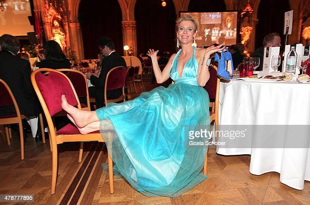 Eva Habermannn attends the 5th Filmball Vienna at City Hall on March 14 2014 in Vienna Austria s