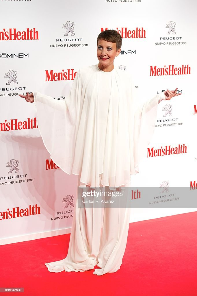 Eva Hache attends Men's Health Awards 2013 at the Canal Theater on October 29, 2013 in Madrid, Spain.