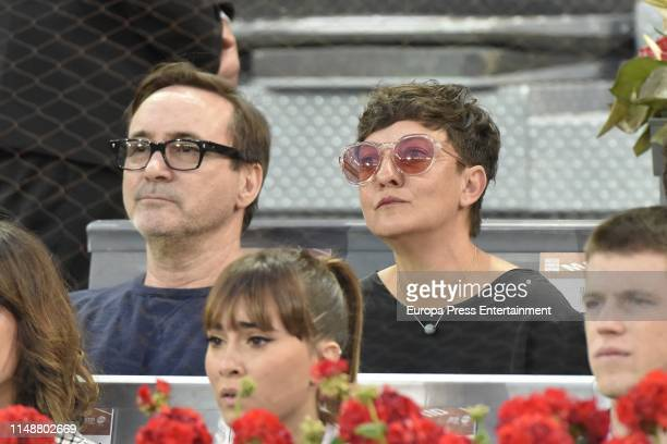 Eva Hache attends Mutua Madrid Open at Caja Magica on May 11 2019 in Madrid Spain