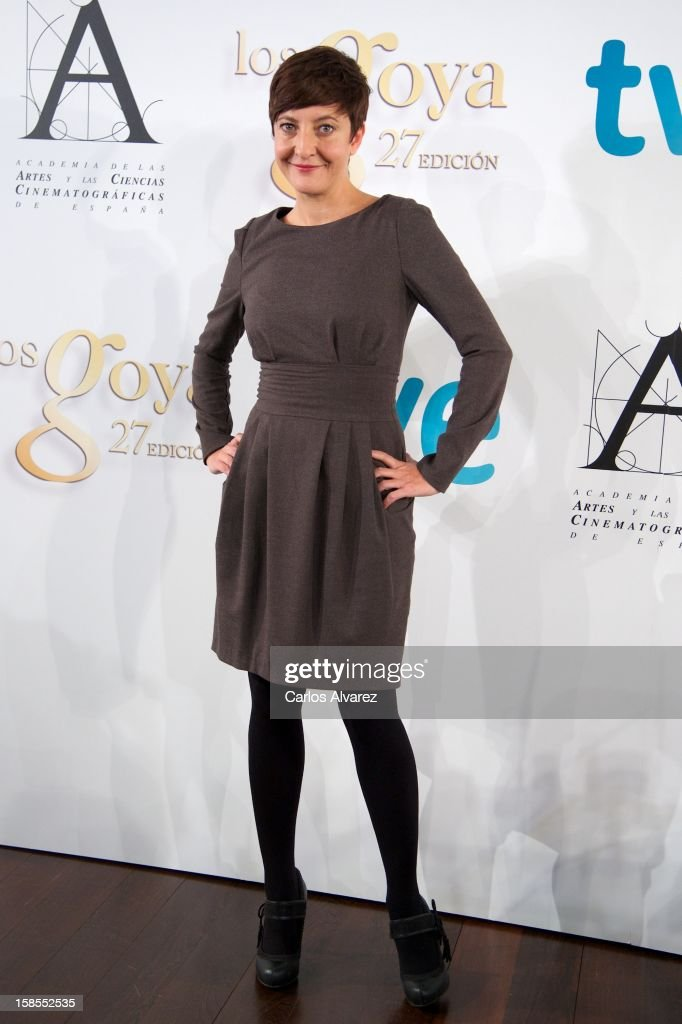 Eva Hache attends the 'Goya Film Awards 2013' press conference on December 19, 2012 in Madrid, Spain.