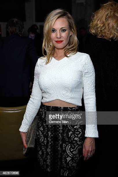 Eva Hassmann attends Studio Babelsberg Soho House Berlinale Party with GREY GOOSE at the 'QUEEN OF THE DESERT' Studio Babelsberg Berlinale...