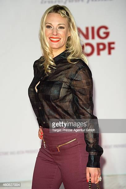 Eva Hassmann attends the 'Honig im Kopf' Premiere at CineStar on December 15 2014 in Berlin Germany