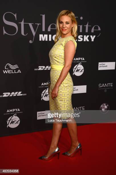 Eva Hassmann attends the Michalsky Style Night at Tempodrom on July 11, 2014 in Berlin, Germany.