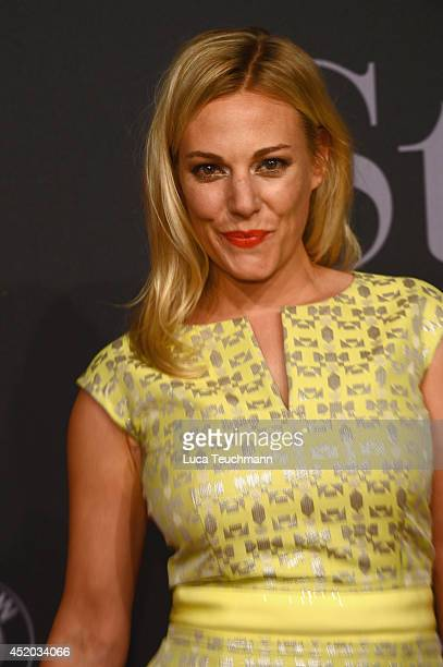 Eva Hassmann attends the Michalsky Style Night at Tempodrom on July 11 2014 in Berlin Germany