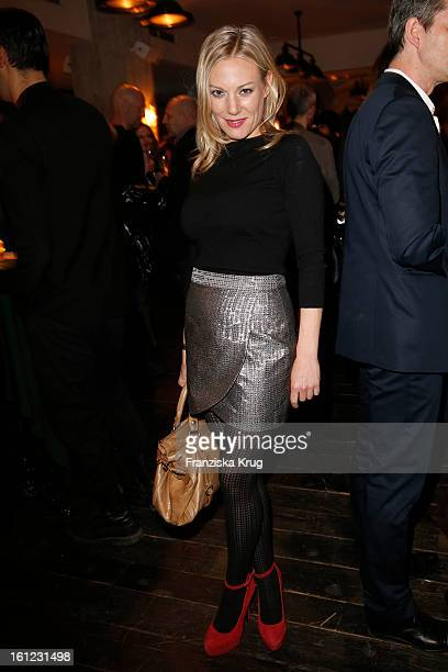 Eva Hassmann attends the 'Soho House Party 63rd Berlinale International Film Festival at Soho House on February 9 2013 in Berlin Germany