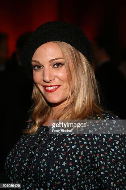 """Eva Hassmann, Porträt, RTL-Show """"Deutscher Comedypreis 2008"""", """"Coloneum"""", Köln, Nordrhein-Westfalen, Deutschland, Europa, Portrait, Hut,..."""