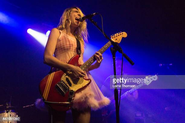 Eva Hendricks of Charly Bliss performs at The Garage on September 14 2017 in London England