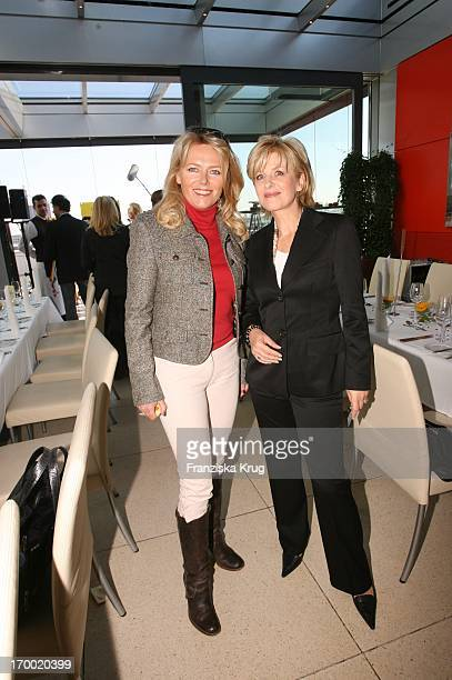 Eva Herman And Carmen Nebel at DKMS Life Charity Lunch In Berlin On 191005.