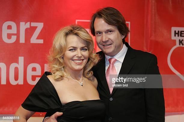 Eva Herman Nachrichtensprecherin Moderatorin Unternehmerin D mit Ehemann Michael Bischoff Unternehmer