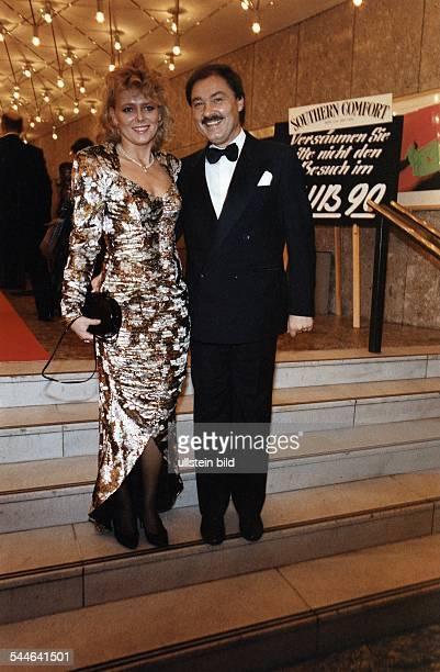 Eva Herman Presenter Germany with husband HorstWolfgang Bremke 1990
