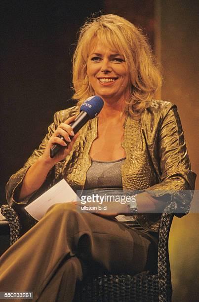 Eva Herman während der Talkshow der Tagesschau anlässlich der Internationalen Funkausstellung in Berlin