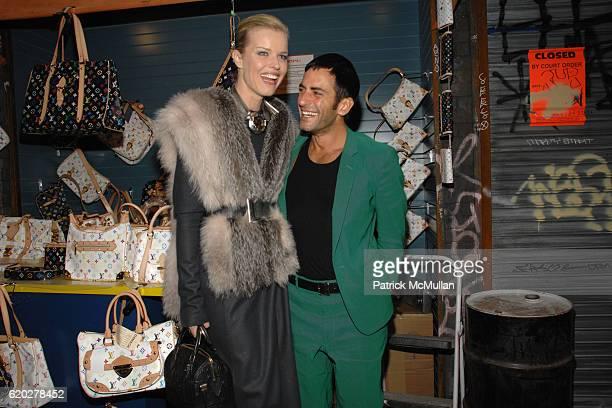 Eva Herzigova and Marc Jacobs attend THE BROOKLYN MUSEUM & LOUIS VUITTON honor Artist TAKASHI MURAKAMI at The 2008 Brooklyn Ball Celebrating ©...