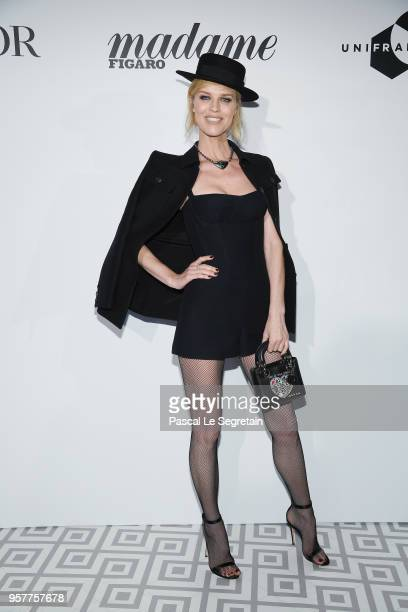 Eva Herzigova attends a Dior dinner during the 71st annual Cannes Film Festival at JW Marriott on May 12, 2018 in Cannes, France.