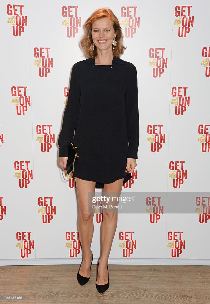 Eva Herzigova attends a special screening of 'Get On Up' at The Ham Yard Hotel on September 14, 2014 in London, England.