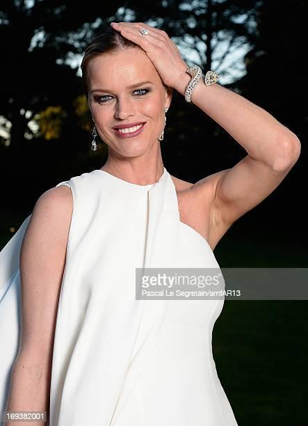 Eva Herzigova attends amfAR's 20th Annual Cinema Against AIDS during The 66th Annual Cannes Film Festival at Hotel du CapEdenRoc on May 23 2013 in...