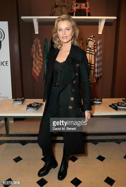 Eva Herzigova attends an event to celebrate 'Be Cool Be Nice' on January 31 2018 in London England