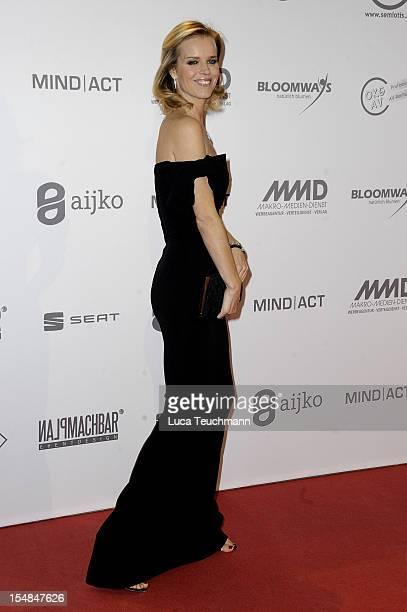 Eva Herzigova attends the 21th UNESCO charity gala at Maritim Hotel on October 27, 2012 in Duesseldorf, Germany.