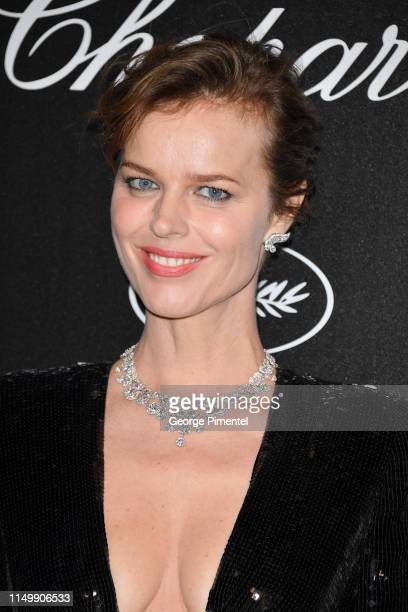 Eva Herzigova attends the Chopard Party during the 72nd annual Cannes Film Festival on May 17, 2019 in Cannes, France.