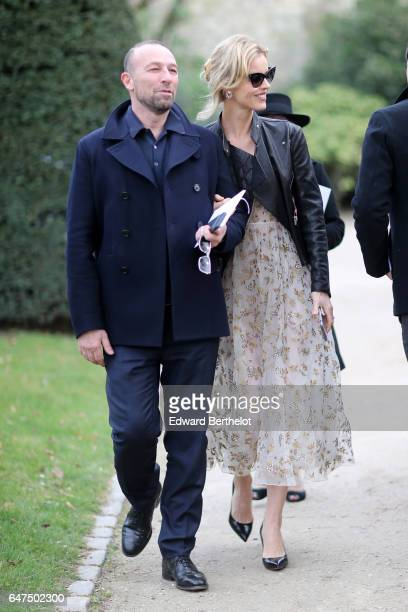 Eva Herzigova attends the Christian Dior show as part of the Paris Fashion Week Womenswear Fall/Winter 2017/2018 on March 3 2017 in Paris France