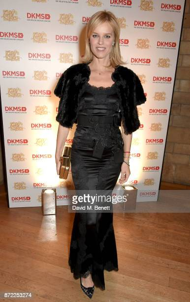 Eva Herzigova attends the DKMS Big Love Gala at The Natural History Museum on November 9 2017 in London England