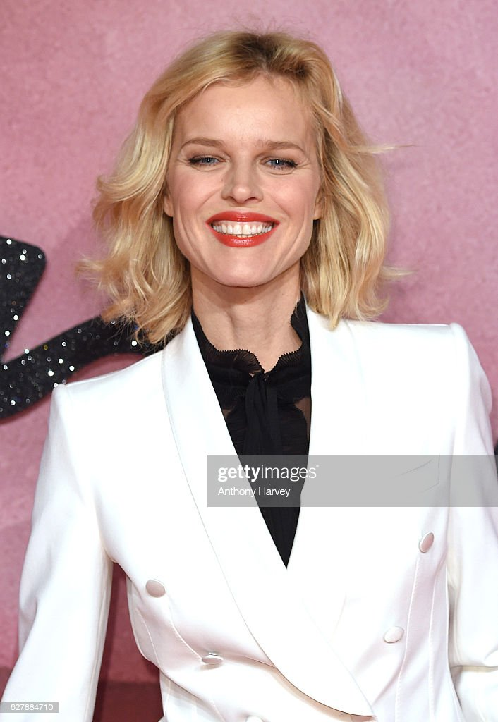 Eva Herzigova attends The Fashion Awards 2016 on December 5, 2016 in London, United Kingdom.