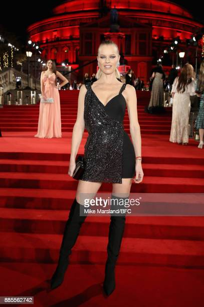 Eva Herzigova attends The Fashion Awards 2017 in partnership with Swarovski at Royal Albert Hall on December 4 2017 in London England
