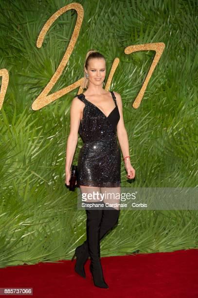 Eva Herzigova attends the Fashion Awards 2017 In Partnership With Swarovski at Royal Albert Hall on December 4 2017 in London England