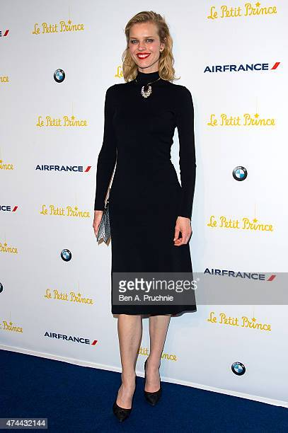 Eva Herzigova attends The Little Prince Party during the 68th annual Cannes Film Festival on May 22 2015 in Cannes France