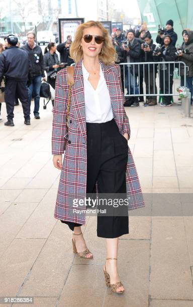 Eva Herzigova attends the Michael Kors Show during the New Yorl Fashion Week on February 14 2018 in New York City
