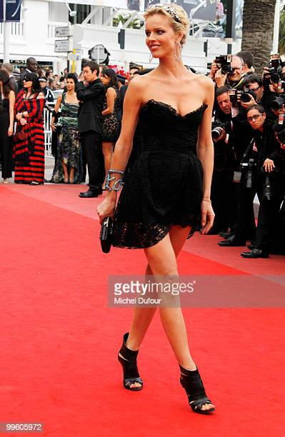 Eva Herzigova attends 'The Princess Of Montpensier' Premiere at the Palais des Festivals during the 63rd Annual Cannes Film Festival on May 16 2010...