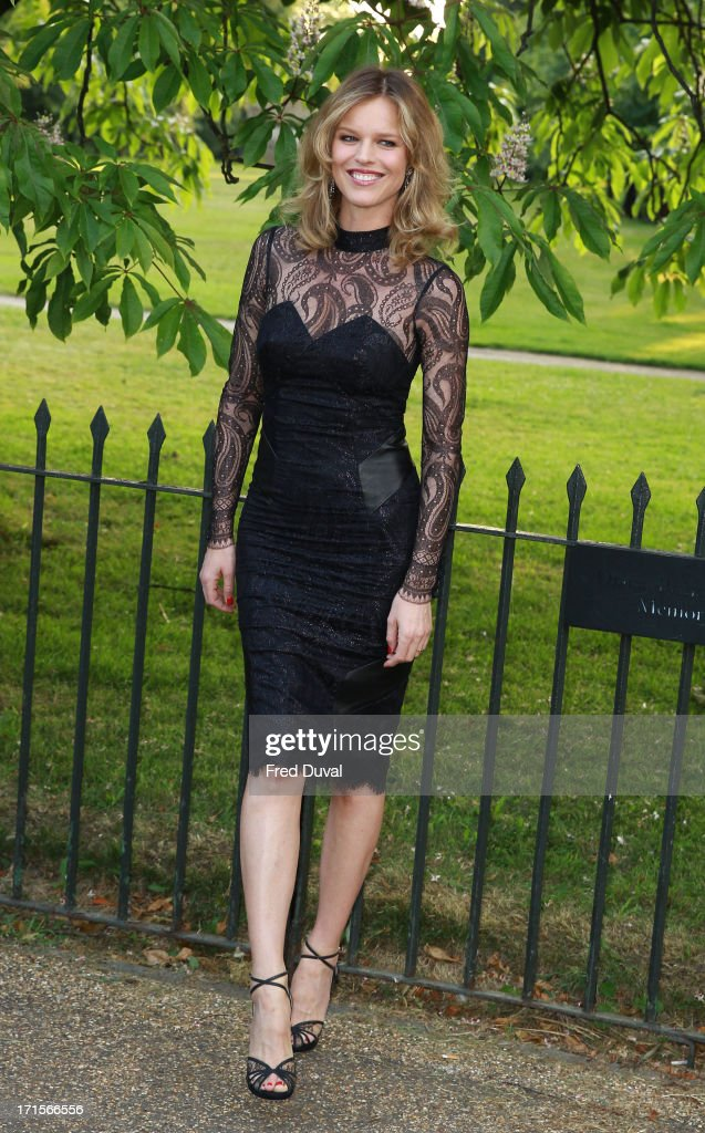 Eva Herzigova attends The Serpentine Gallery Summer Party at The Serpentine Gallery on June 26, 2013 in London, England.