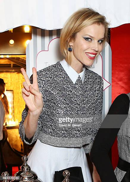 Eva Herzigova attends the The World's First Fabulous Fund Fair hosted by Natalia Vodianova and Karlie Kloss in support of The Naked Heart Foundation...