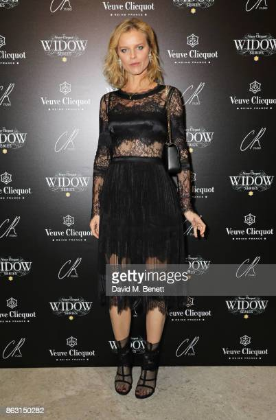 Eva Herzigova attends The Veuve Clicquot Widow Series By Carine Roitfeld And CR Studio on October 19 2017 in London England