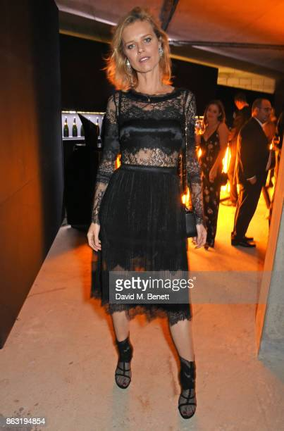 Eva Herzigova attends The Veuve Clicquot Widow Series By Carine Roitfeld And CR Studio on October 19 2017 in London England