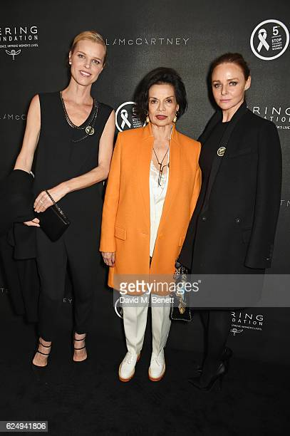 Eva Herzigova Bianca Jagger and Stella McCartney attend a VIP screening of the awardwinning documentary Sonita hosted by FrancoisHenri Pinault Salma...