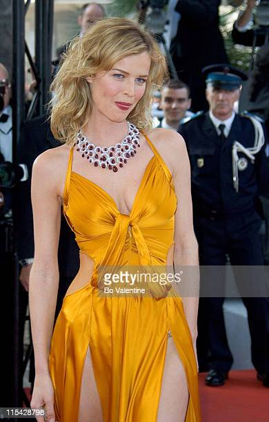 Eva Herzigova during 2006 Cannes Film Festival Opening Night Gala and World Premiere of The Da Vinci Code Arrivals at Palais du Festival in Cannes...