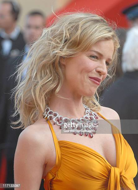 Eva Herzigova during 2006 Cannes Film Festival Opening Night Gala and World Premiere of The Da Vinci Code Arrivals at Palais du Festival in Cannes...